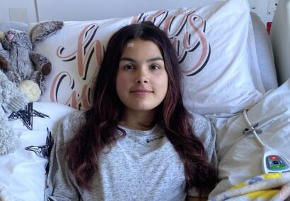 Jemima leads with kindness and bravery